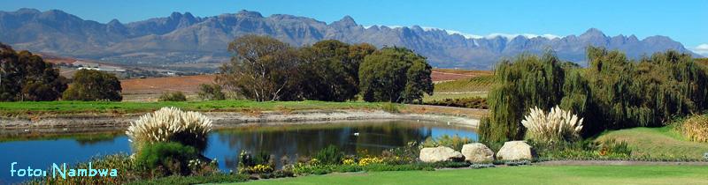 Světoznámé vinice v okolí Kapského Města a Stellenbosch